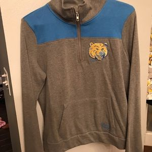 VS Pink UCLA Bruins Half Zip Jacket